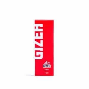 Foite GIZEH Fine Red (50)