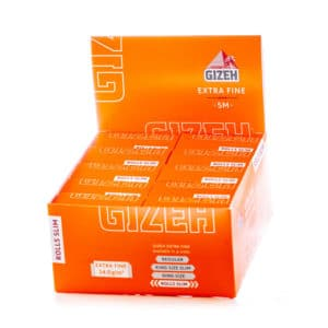 Foite rola GIZEH Extra Fine Slim (5m)