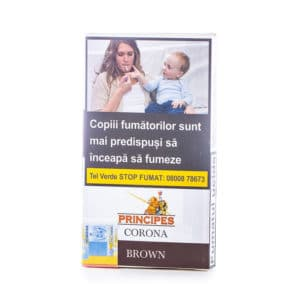 Tigari de foi PRINCIPES CORONA Brown Choco (5)
