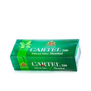 Tuburi tigari CARTEL Menthol (200)