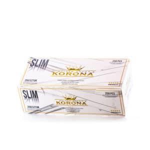 Tuburi tigari KORONA Slim White (250)