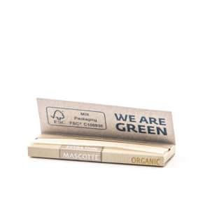 Foite MASCOTTE Extra Thin Organic (50)