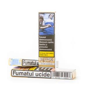 Tigari de foi RETROS Gold Vanilla (2)
