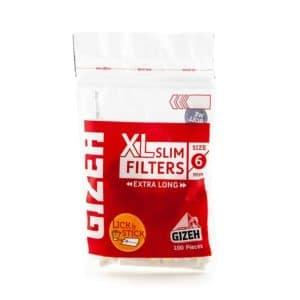 Filtre Gizeh Slim Long XL 6mm etutun