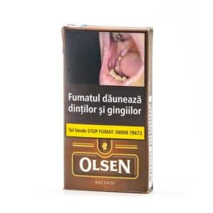 Tigari de foi Olsen Brown (Chocolate) etutun