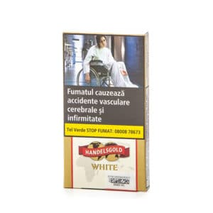 Tigari de foi HANDELSGOLD White (5)