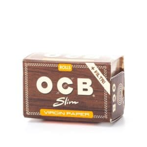 Foite rola OCB Virgin Paper (4m) + TIPS (40)