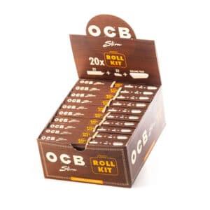 Foite OCB Virgin Paper King Size Slim (32) + TIPS (32) Roll Kit