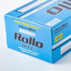 Tuburi tigari ROLLO Blue Ultra Slim (200)