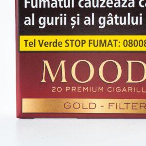 Tigari de foi MOODS Gold Filter (20)