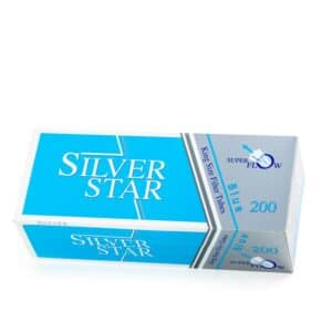 Tuburi tigari SILVER STAR Blue (200)
