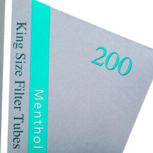 Tuburi tigari SILVER STAR Menthol (200)