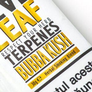 Inlocuitor tutun REAL LEAF Bubba Kush (30g)