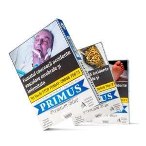Pachet 20 x Tigari de foi inj PRIMUS Premium Blue (51g) + Transport gratuit