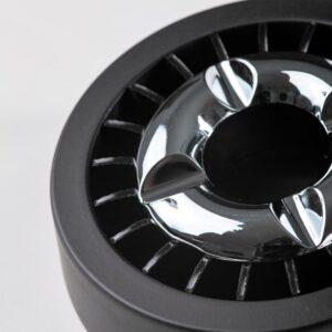 Scrumiera ANGELO Smokeless Black Chrome 407120