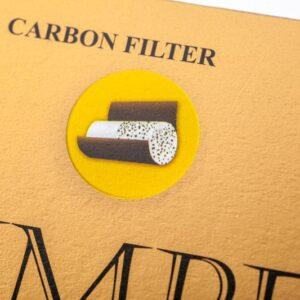 Tuburi tigari IMPERATOR Black Carbon (200)
