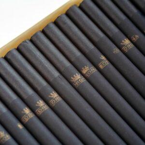Tuburi tigari KORONA Slim Black Carbon (120)