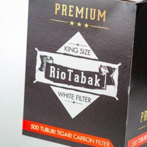 Tuburi tigari RIOTABAK White Carbon (500)