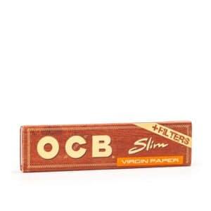 Foite OCB King Size Slim Virgin Paper (32) + TIPS (32)
