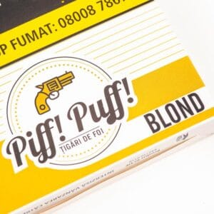 Tigari de foi inj PIFF PUFF Blond (48g)