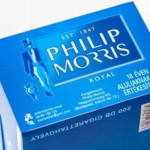 Tuburi tigari PHILIP MORRIS Royal (200)