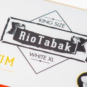 Tuburi tigari RIOTABAK White XL Carbon (200)