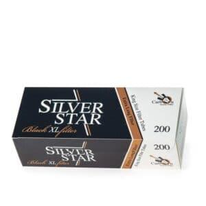 Tuburi tigari SILVER STAR XL Filter Black (200)