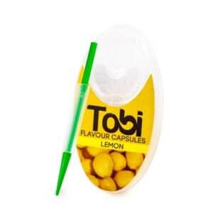 Capsule pentru tigari TOBI Lemon (100)
