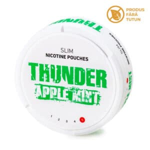 Nicotine pouch THUNDER Apple Mint
