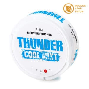 Nicotine pouch THUNDER Cool Mint
