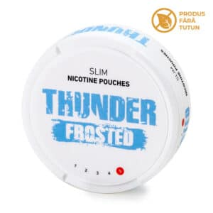 Nicotine pouch THUNDER Frosted
