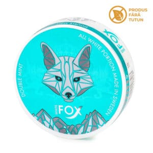 Nicotine pouch WHITE FOX Double Mint