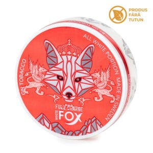 Nicotine pouch WHITE FOX