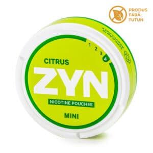 Nicotine pouch ZYN Mini Citrus 6mg